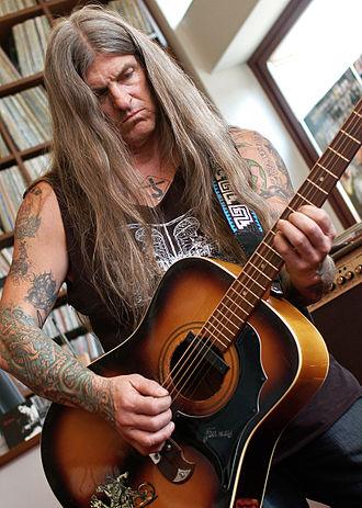 Scott Weinrich - Weinrich playing a guitar, 2010