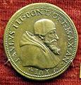 Scuola romana, medaglia di paolo III, 1549.JPG
