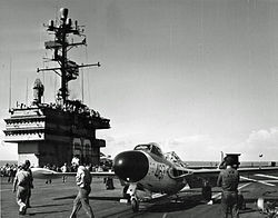 Sea Venom on USS Saratoga 1958.jpg