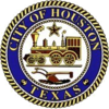 Official seal of City of Houston Bandar Houston