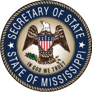Seal of Mississippi - Image: Seal of the Secretary of State of Mississippi