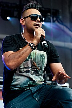 Sean Paul al B96 Pepsi SummerBash nel 2012