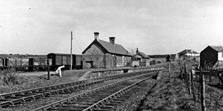 Seaton railway station (Cumbria) Disused railway station in Cumbria, England