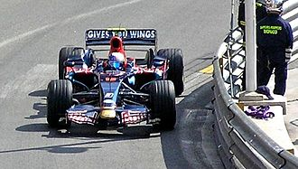 Toro Rosso STR3 - The STR3 made its racing début at the 2008 Monaco Grand Prix, driven by Sébastien Bourdais and Sebastian Vettel (pictured).