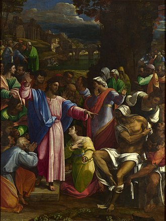 The Raising of Lazarus (Sebastiano del Piombo) - Image: Sebastiano del Piombo, The Raising of Lazarus
