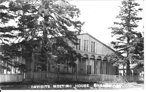 The Second Meeting House, Sharon, where the Reform Association met June 1844 Second Meeting House.jpg