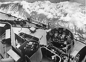 South Dakota-class battleship (1939) - A variety of anti-aircraft weapons on board South Dakota