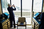 Secretary Kerry Photographs Alps Before Bilateral Meeting With Israeli Prime Minister Netanyahu in Switzerland (23891063023).jpg