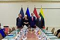 Secretary Kerry Poses for a Photo With the Foreign Ministers of Latvia, Estonia, and Lithuania Before a Meeting Amid NATO's Biannual Foreign Ministerial Meetings in Brussels (27080759286).jpg