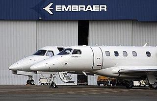 Embraer Aircraft manufacturer based in Brazil