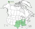 Sedum pulchellum US-dist-map.png