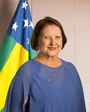 Maria do Carmo Alves - Image: Sen Maria do Carmo Alves (Retrato oficial de Senadora)