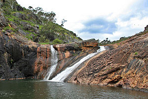 Serpentine National Park - Main section of the Serpentine Falls, 2007