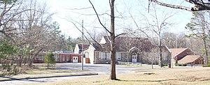 Sewanee Elementary School - Sewanee Elementary School From Otey Parish Yard