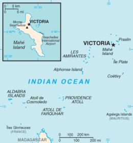 Seychelles - Mappa