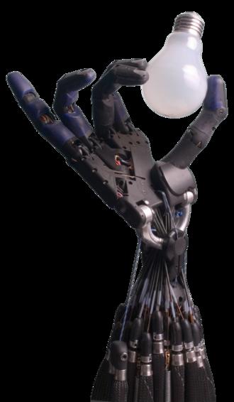 Robot end effector - Image: Shadow Hand Bulb large Alpha