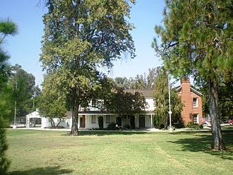 West Hills, Los Angeles - Shadow Ranch ranch-house and Park