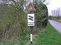 Sharp Bend Sign - geograph.org.uk - 316518.jpg