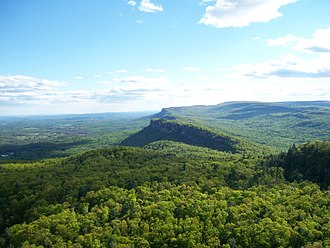 New York–New Jersey Trail Conference - Shawangunk Ridge from Skytop Cliff, New York