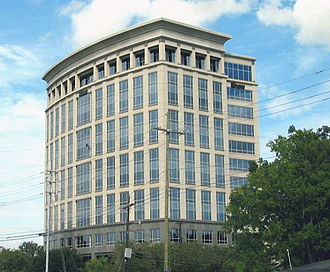 The Shaw Group - The Shaw Group's former headquarters on Essen Lane, a commercial office corridor