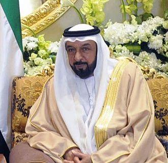 Khalifa bin Zayed Al Nahyan - Khalifa Al Nahyan in 2013