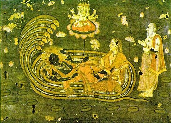 Shesh shaiya Vishnu