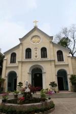 A Roman Catholic Church in Nanjing