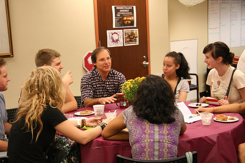 File:Shimer College conversation with students 2010.jpg