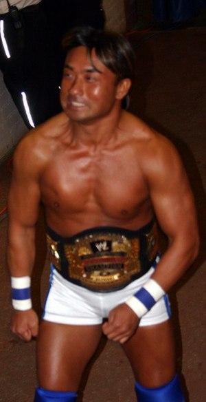 Shoichi Funaki - Funaki as the Cruiserweight Champion in 2005