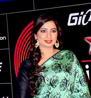 Shreya Ghoshal GiMA