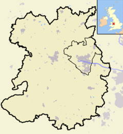 Shropshire outline map with UK (2009).png