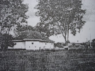 Sibu - A photo of Sibu Fort, taken between 1862 and 1908.