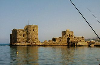 Sidon Sea Castle - Image: Sidon Sea Castle