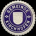 Siegelmarke Gemeinde Kirchhofen W0310646.jpg