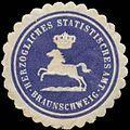 Siegelmarke H. Statistisches Amt Braunschweig W0380637.jpg