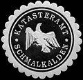 Siegelmarke Katasteramt - Schmalkalden W0255899.jpg