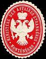 Siegelmarke Ministere des Affaires Etrangeres Montenegro W0317434.jpg