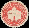 Siegelmarke Siegel der Stadt Boizenburg-Elbe W0355676.jpg