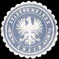Siegelmarke Stadtgemeinde Znaim W0318342.jpg