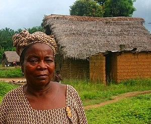 Sierra Leone - Njama village, Kailahun Distric...
