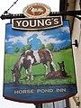 Sign for the Horse Pond Inn, Castle Cary - geograph.org.uk - 667535.jpg
