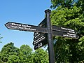 Signpost on the Eastern Side of Greenwich Park.jpg
