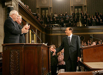 Political career of Silvio Berlusconi - Image: Silvio Berlusconi to a joint session of Congress