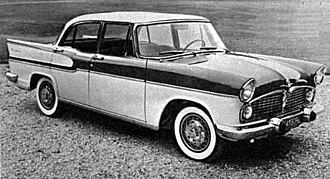 Simca Vedette - 1961 Simca Vedette Chambord saloon