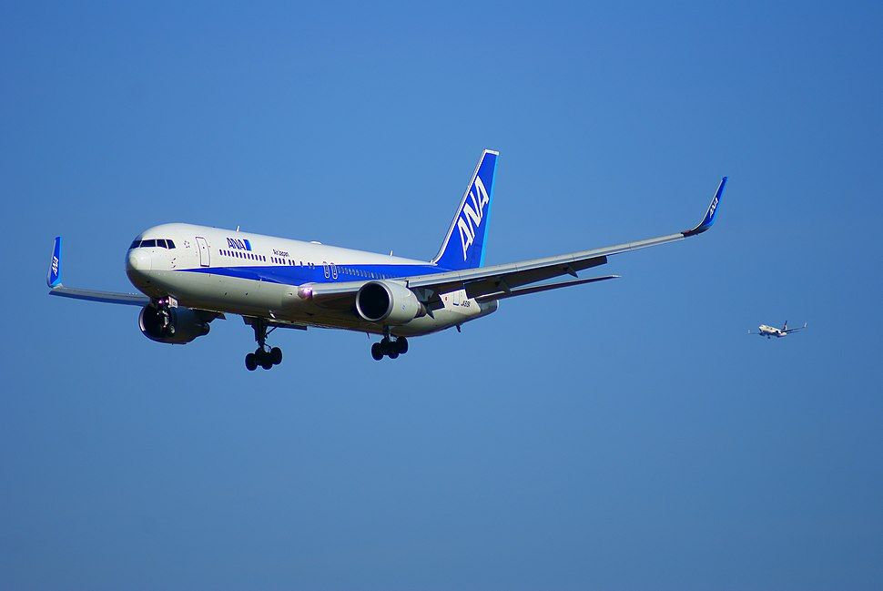 Simultaneous landing of Tokyo Narita Airport