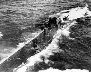 German submarine U-175 - Image: Sinking of U 175 2