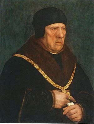 Henry Wyatt (courtier) - Portrait of Sir Henry Wyatt, Hans Holbein the Younger