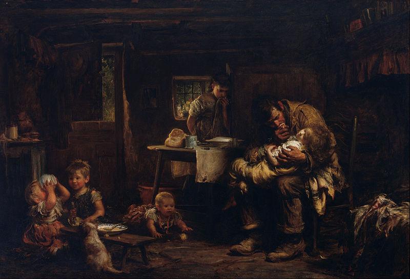 File:Sir Luke Fildes - The widower - Google Art Project.jpg