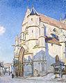 Sisley, Alfred-L'église à Moret-Paris, Petit-Palais.jpg
