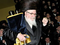 Skverer Rebbe With Torah.jpg